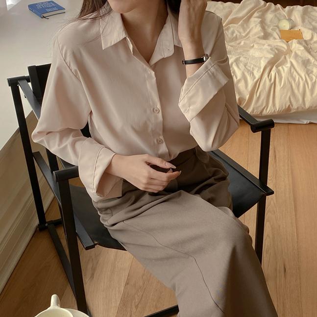 루나 6color 베이직 셔츠