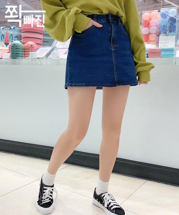 (재입고)쫙빠진_청치마바지_XL추가!(SN)