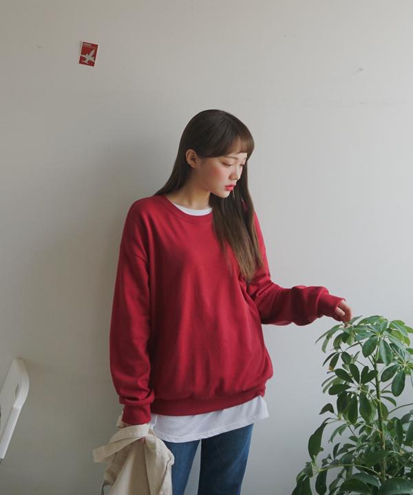 NEWレイヤード無地Tシャツ[P]