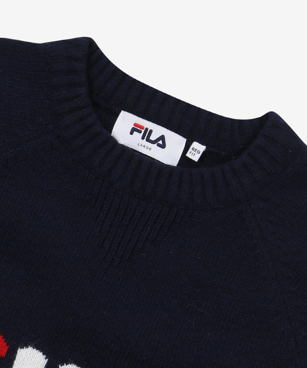 [휠라]<18FW 온라인단독>FILA LINEA KNIT_INK NAVY