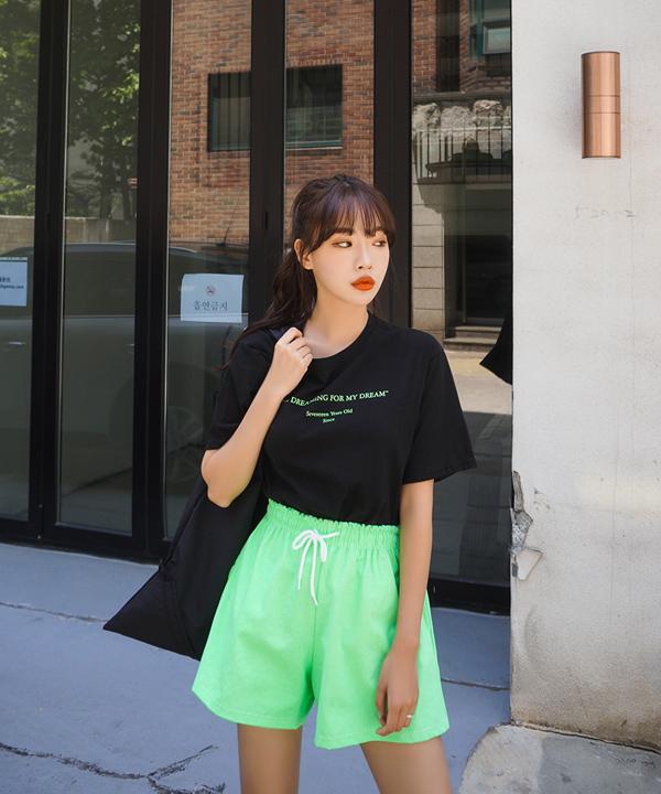 DREAM精緻英字短袖T恤