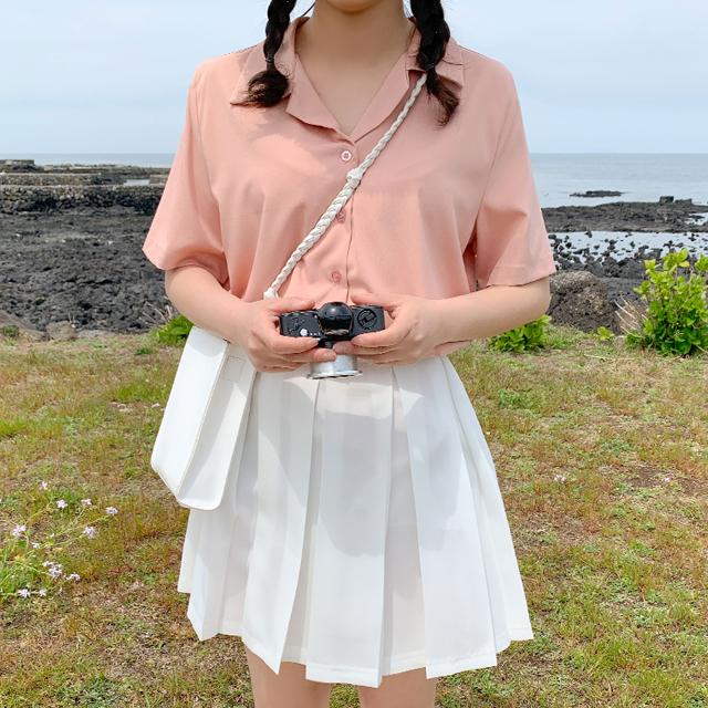 ソフトデイリー半袖シャツ (7colors!)