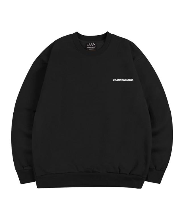 [프랑켄모노]유니크모노 맨투맨 티셔츠(기모)[B]