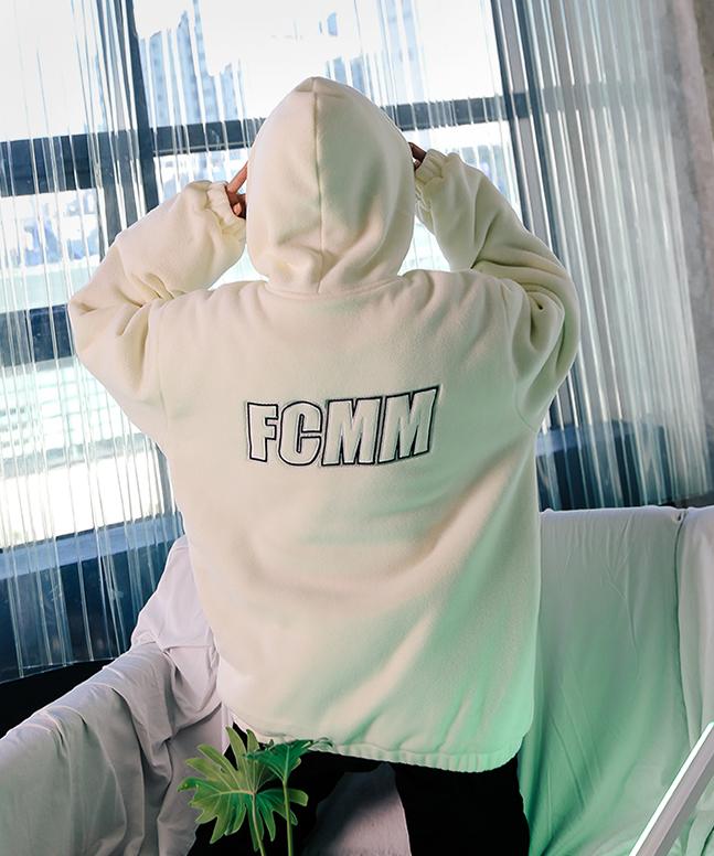 [FCMM] 빅로고 플리스 점퍼 (인기상품)[B]