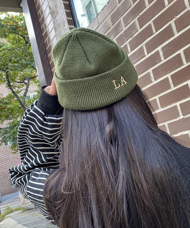 L.Aショットビニー帽