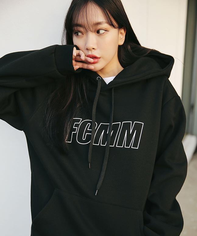 [FCMM]리니어 로고 후드