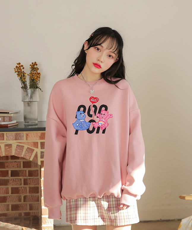 [론론] CARE BEARS BALLOON SWEATSHIRT