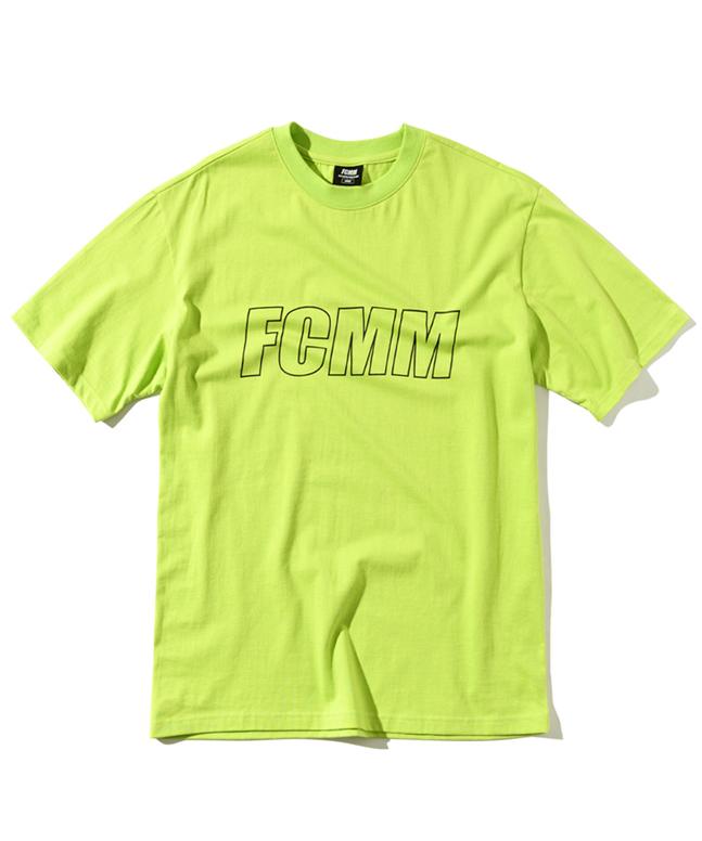 [FCMM]리니어 로고 티셔츠[B]