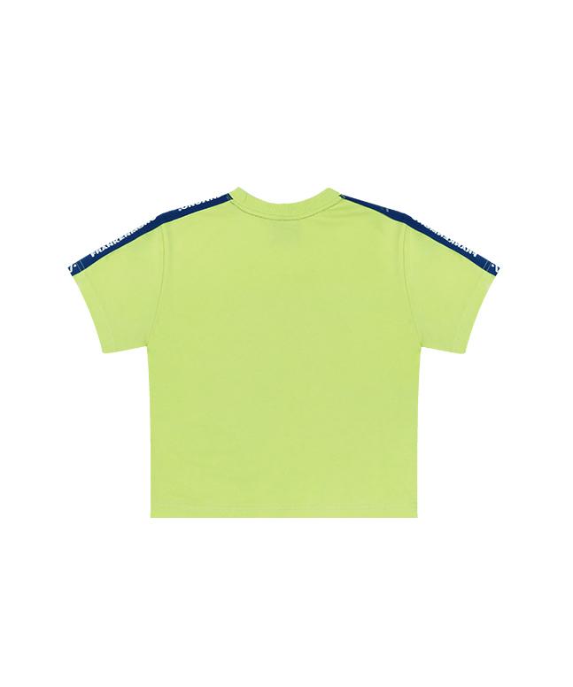 [FRNM]テーピングクロップTシャツ