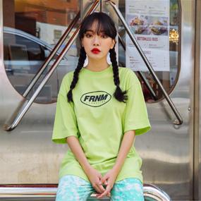 [FRNM]ラウンドロゴTシャツ