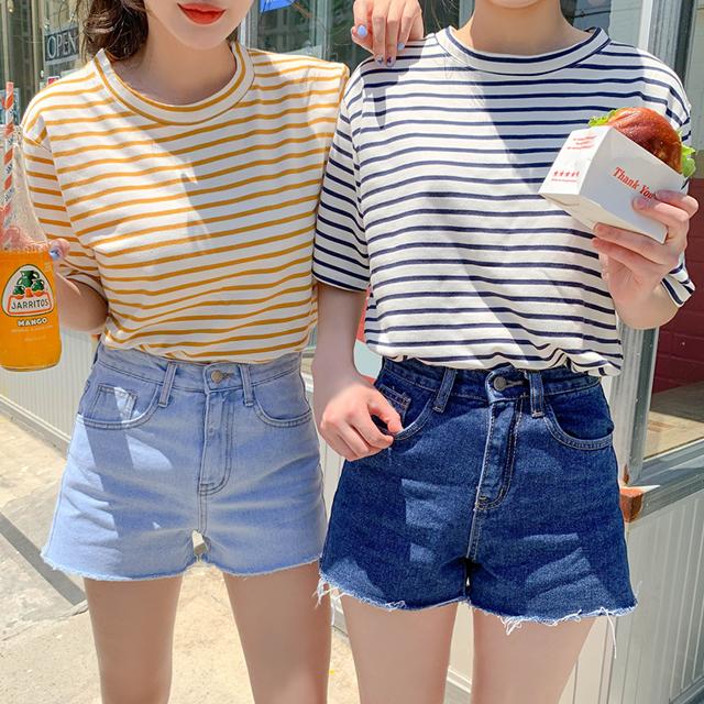 (여름기획)박시스트라이프반팔 (10colors!)