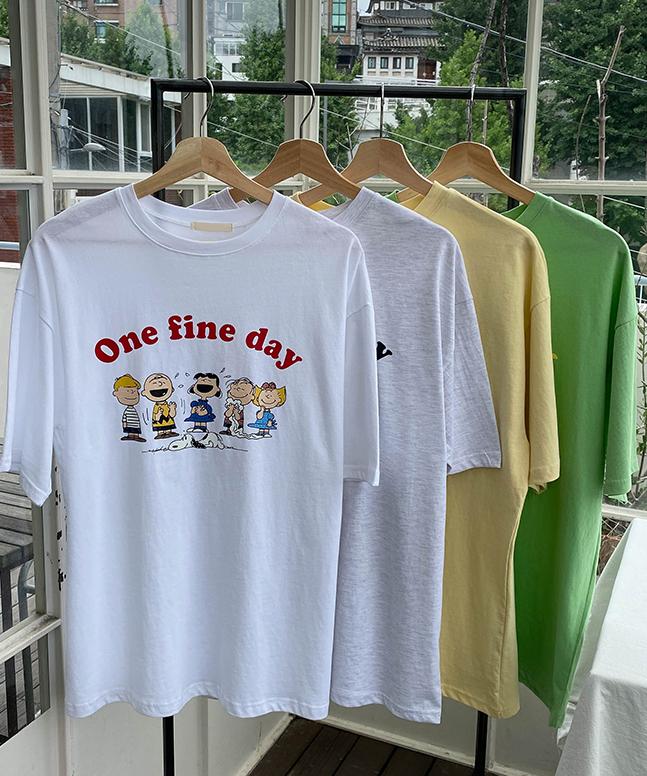 FINEDAY印花短袖T恤