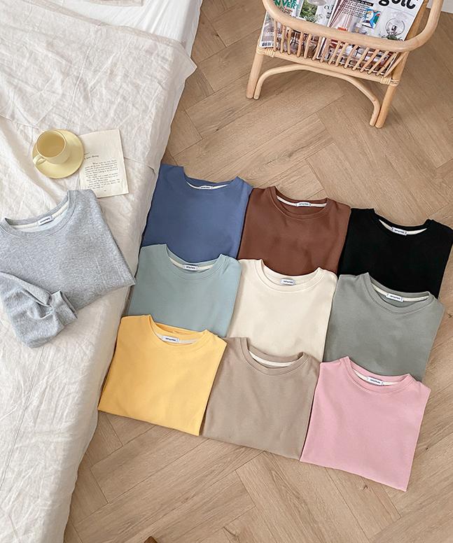 NEWバルーンコットンTシャツ (10colors!)[P]
