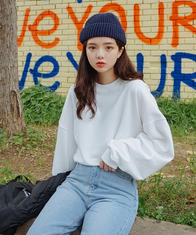 [프리미엄]베이직맨투맨(SN)