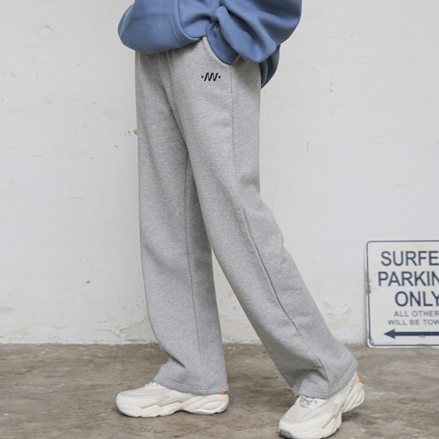[프랑켄모노]SIGNATURE SIMBOL WIDE LONG PANTS