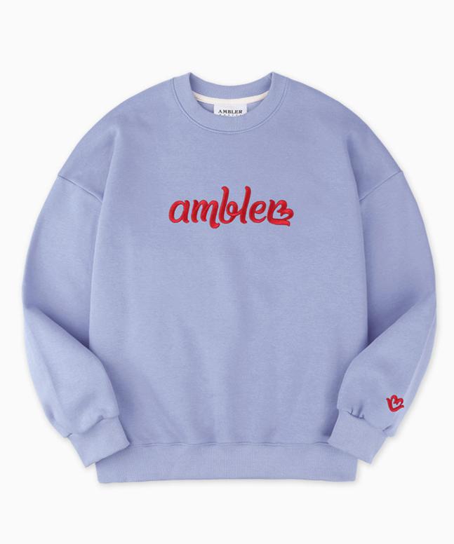 [AMBLER]男女共用オーバーフィットトレーナー AMM813