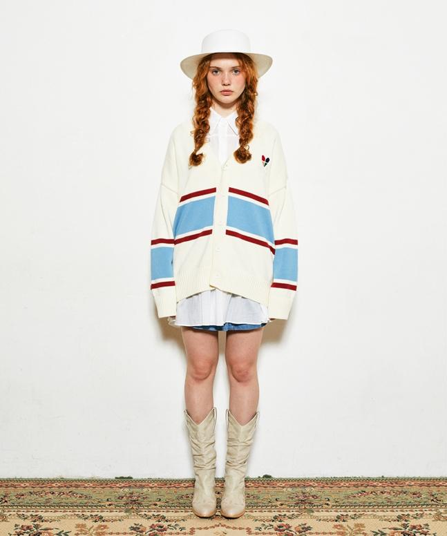 [VETEZE]Heart Knit Cardigan