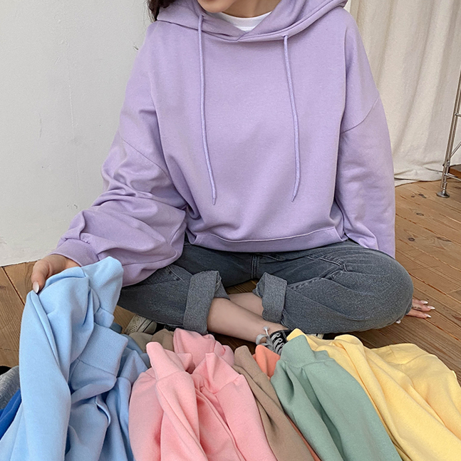 [SONA製作]バルーンフードパーカ 11colors