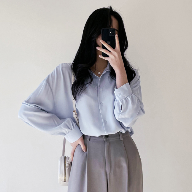 [봄기획]요즘딱이야! 찰랑 벌룬셔츠