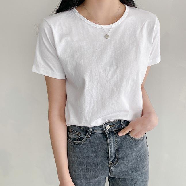 ベーシックスリムTシャツ