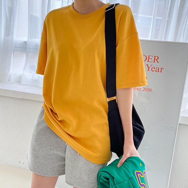 日常圓領短袖T恤(11色)