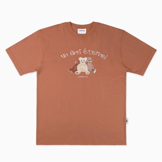 [AMBLER]男女共用半袖TシャツAS810