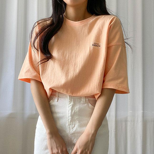 シンプルベーシックTシャツ