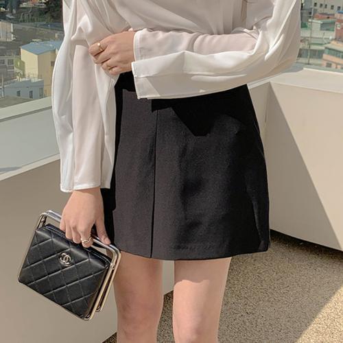 バックゴムポケットスカート