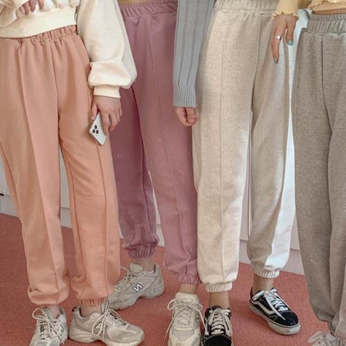 トレジンバンディングジョガー pants