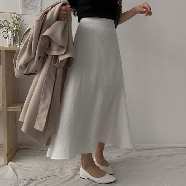 フレアロングスカート8色
